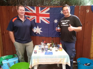 Happy Australia Day from Steve & Grant