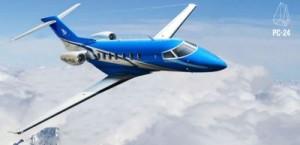 Pilatus PC24 as it should look in flight