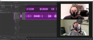Steve & Grant recording